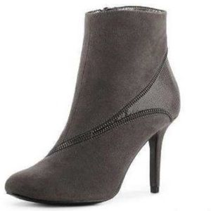 Kelly & Katie gray suede boots
